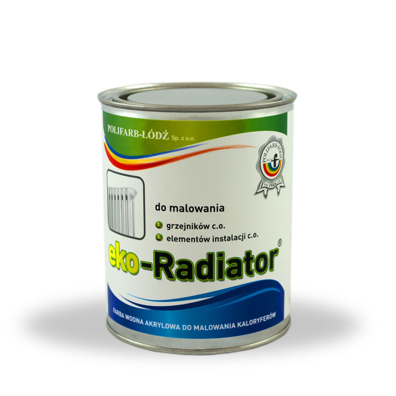 Eko Radiator Acrylic Water Based Paint For Radiators Non Yellowing Polifarb D Co Ltd